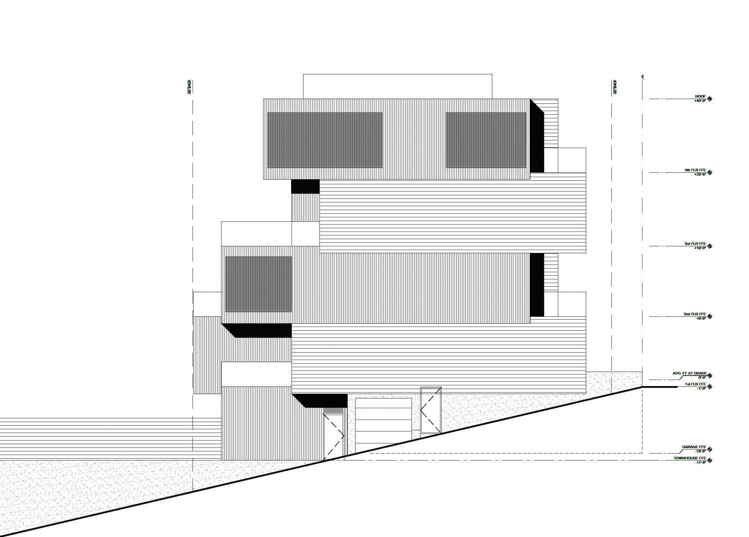 801 Rhode Island Street vertical view, illustration by Timbre Architecture