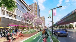Great Mall Parkway view, rendering via the City of Milpitas