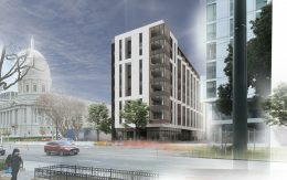 Kelsey Civic Center, rendering by WRNS Studio
