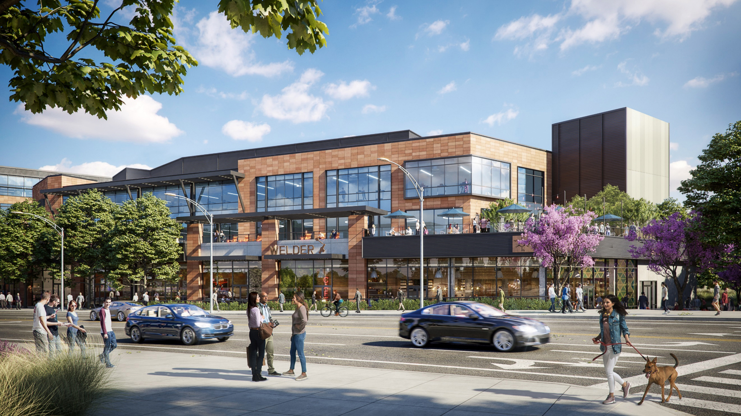 Southline retail hub, image by DES Architects and Engineers