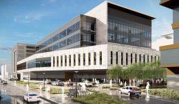 UCSF Clinic Building Block 34, rendering via Stantec